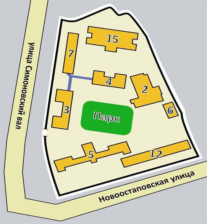 ГКБ 13 схема корпусов и отделения больницы
