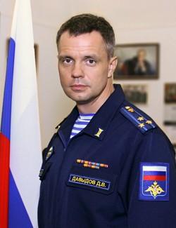 Начальник ГВКГ им. академика Н.Н. Бурденко  Денис Владимирович Давыдов