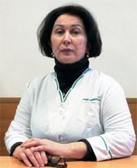 Питерякова Елена Германовна — заведующая поликлиникой, врач-педиатр