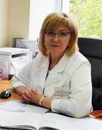 Мария Михайловна Кцоева- врач, зав.поликлиникой 2 Химки