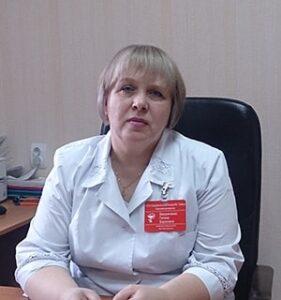 Бердниченко Галина Борисовна заведующая поликлиникой, врач