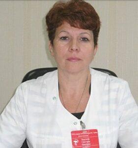 Лазутина Светлана Ивановна врач, заведующая детской поликлиникой 4 Тамбова