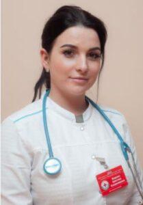 Жидкова Кристина Владимировна, врач-терапевт